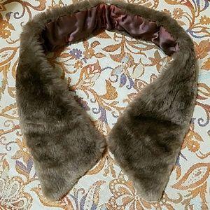 Vintage BEAVER Fur Collar